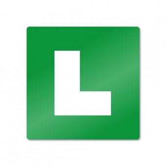 """Odsevna """"L"""" nalepka - vožnja s spremljevalcem"""