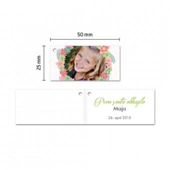 Personalizirani kartončki za konfete - venček #1