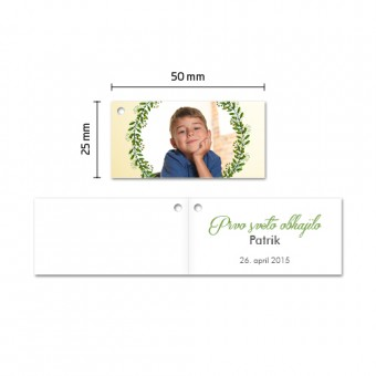 Personalizirani kartončki za konfete - venček #2