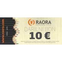 Darilni bon 10 €