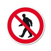 Dostop pešcem je prepovedan