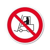 Dostop za industrijska vozila je prepovedan