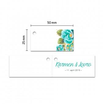 Kartončki za konfete - cvetje #2
