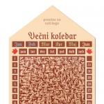 Magnetni večni koledar, 27 x 53 cm