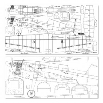 Načrt poljubna širina x 105 cm
