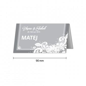 Namizne kartice - čipka #3