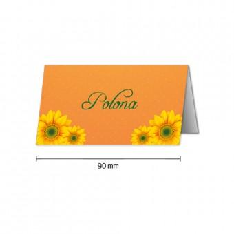 Namizne kartice - sončnica