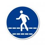 Obvezna pot za pešce