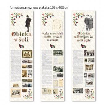 Plakat iz blaga 105 x 400 cm