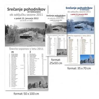 Plakat 35 x 70 cm