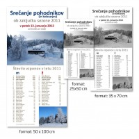 Plakat 50 x 100 cm