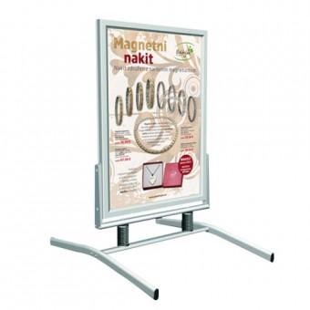 Pregibno stojalo z dvema plakatoma 70 x 100 cm