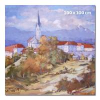 Reprodukcija umetniškega dela 100 x 100 cm