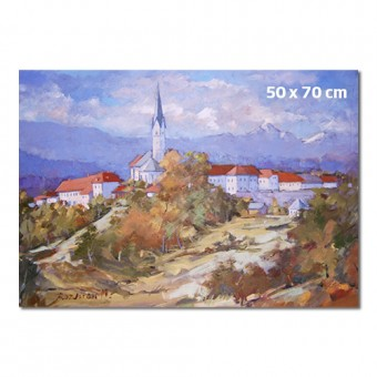 Reprodukcija umetniškega dela 50 x 70 cm