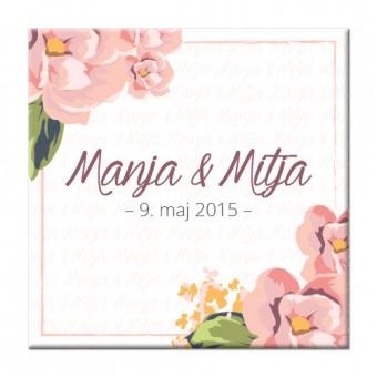 Spominski magnetki - cvetje #1