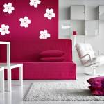 Stenska nalepka Češnjevi cvetovi