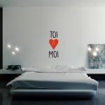 Stenska nalepka TOI et MOI