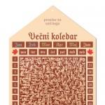 Večni koledar, 27 x 53 cm